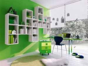 Green boys room ideas