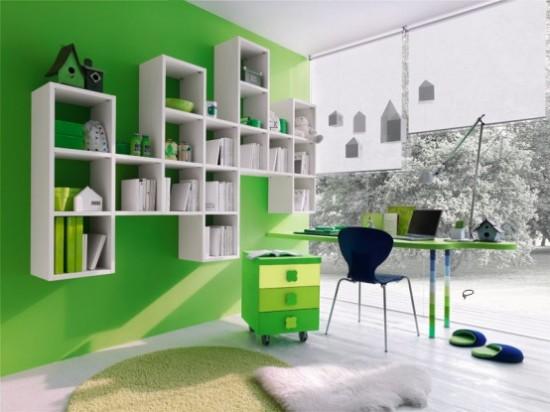 Green Boys Room Ideas