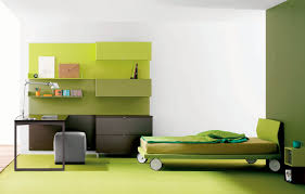teenagers' green modern bedrooms