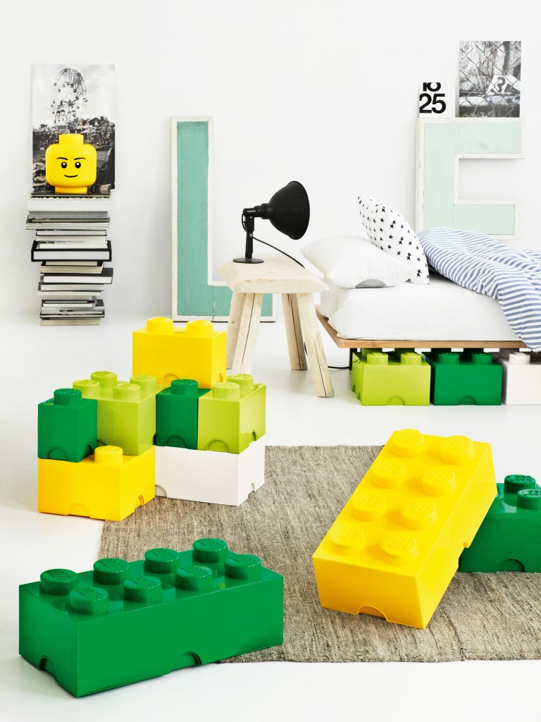 lego furniture for kids rooms. Kids-bedroom-futuristic-green-and-yellow-lego-theme- Lego Furniture For Kids Rooms M