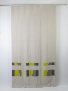 Contemporary linen teen curtains